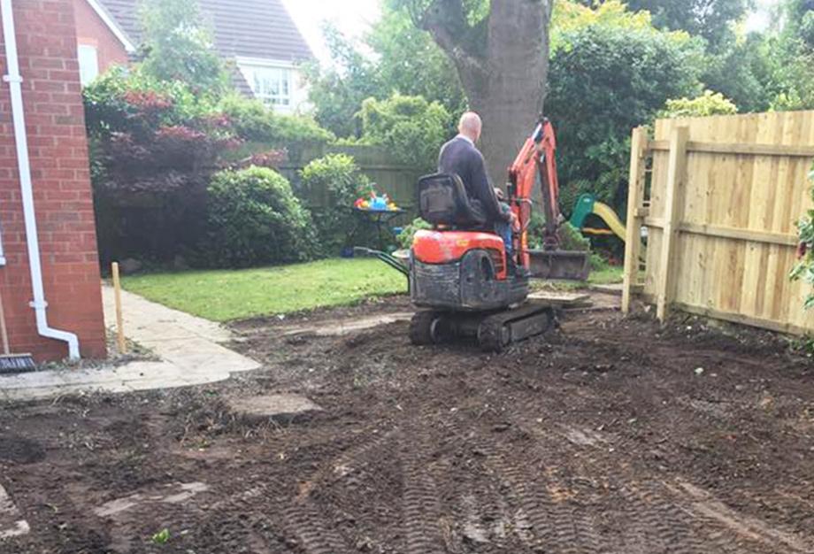 landscaping warrington